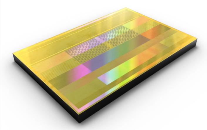 Чип (стек) Samsung HBM2 Aquabolt (второе поколение 8-Гбит памяти HBM2)