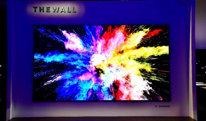 The Future of Display: A First Look at Samsung's 146-inch Modular TV