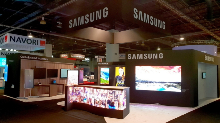 Samsungs Interactive Display Solutions Take Center Stage Samsung