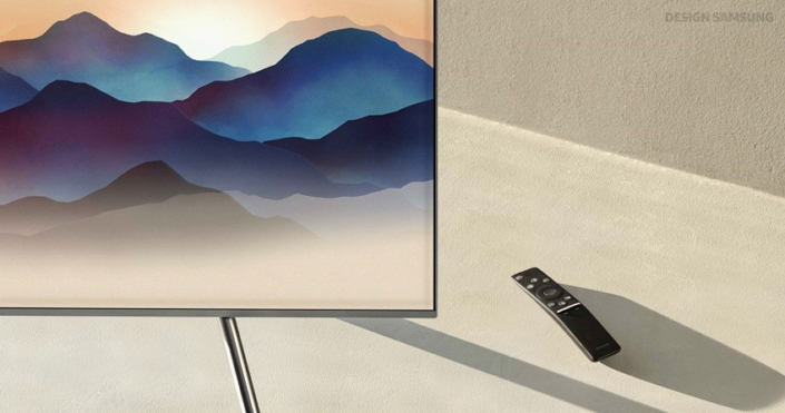 Design Story] Samsung's 2018 QLED TVs Take Immersion to New Heights