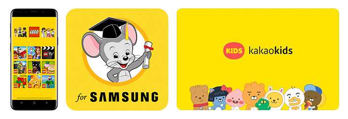How Samsung's Child-Friendly Content Helps Kids Build