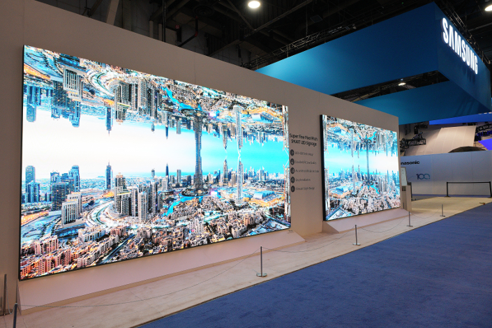 Samsung Commercial Displays >> Samsung Launches The Wall Professional For Commercial Industry At