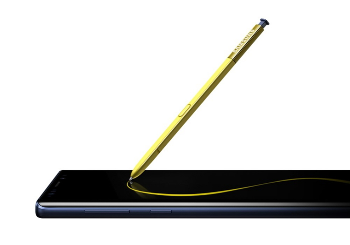 Look 1 A Mobile Remote Control The Galaxy Note9s Connected S Pen Newssamsung Samsung Note