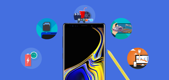 [Infographic] Experience the Power of the Galaxy Note9