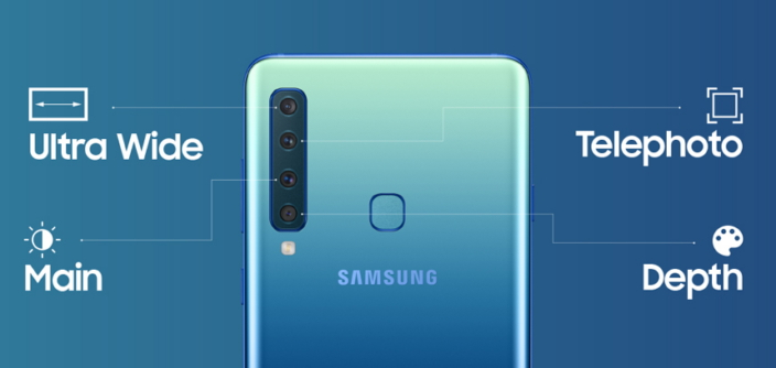 [Infographic] Galaxy A9: The World's First Rear Quad-camera Smartphone