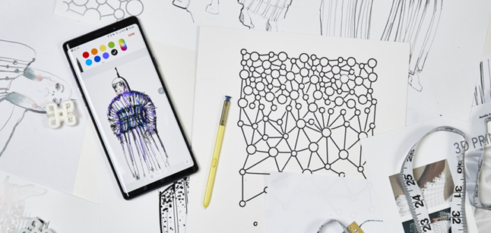Mobile Couture When Fashion Met The Galaxy Note9 Samsung Global Newsroom
