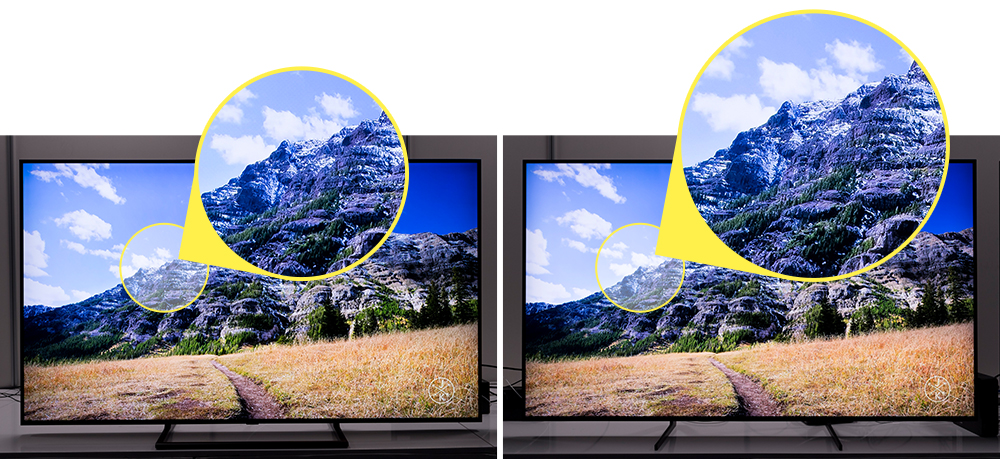 Hands On] What Makes 8K AI Upscaling on the QLED 8K