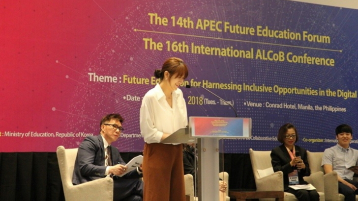 Samsung Smart School Greets the World at the 2018 APEC