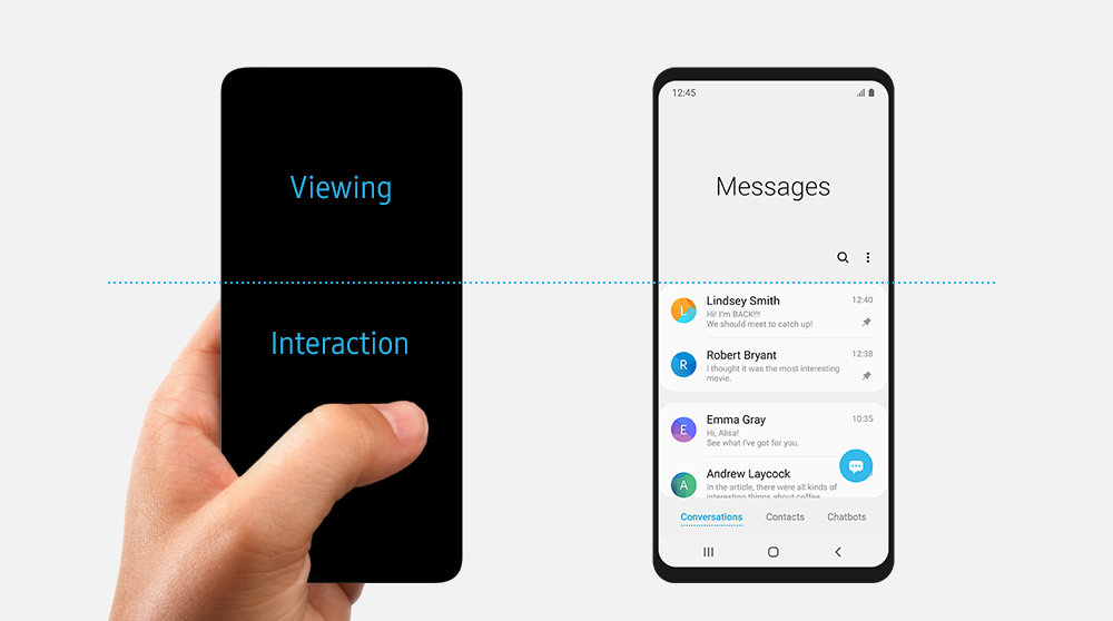 Samsung's One UI: a Singular Smartphone Experience – Samsung