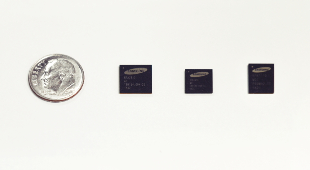 Samsung Unveils Next-Generation RF Chipsets for 5G Base
