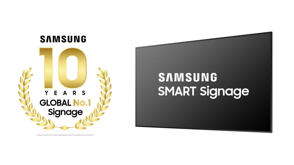 Samsung Marks Decade as Global Leader in Digital Signage – Samsung Global Newsroom