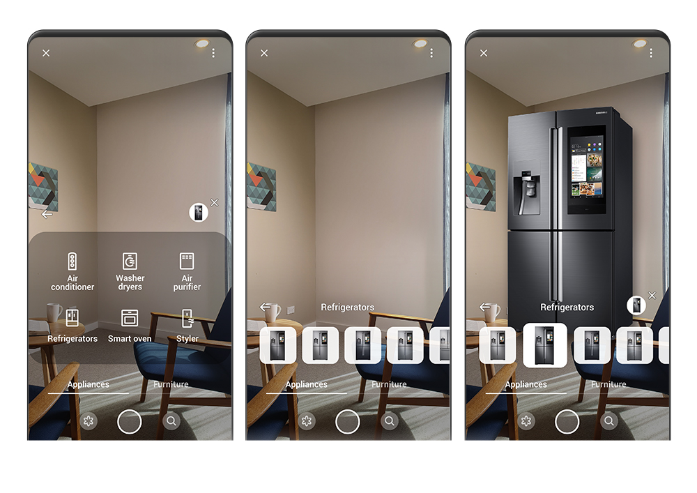 How to Use AR on the Galaxy S10 to Find the Perfect Appliances for Your Home – Samsung Global Newsroom