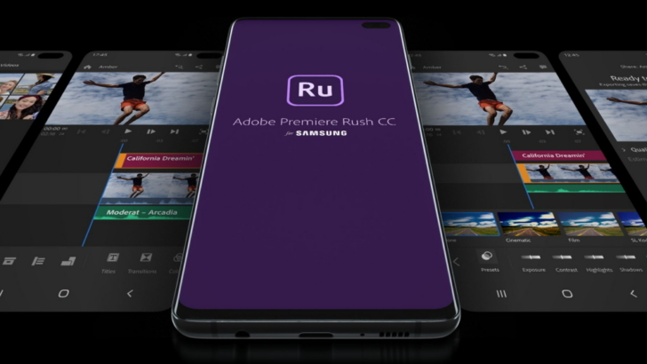 Adobe Premiere Rush for Samsung Launches for Galaxy Users – Samsung