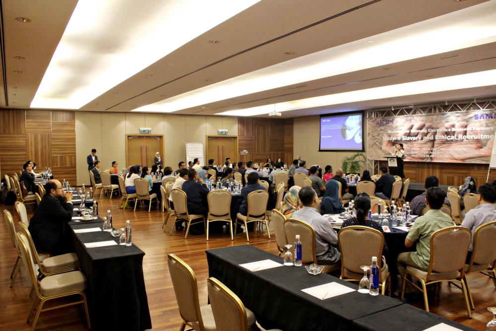 Samsung Electronics and IOM Hold Training Day in Malaysia to Help Eradicate Modern Slavery – Samsung Global Newsroom