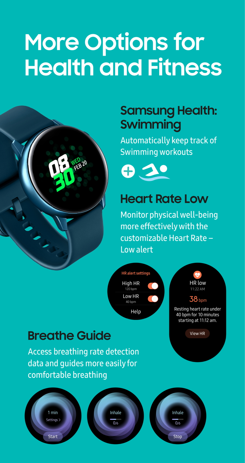 Samsung Galaxy Watch Active: Smarter, Sportier, Snazzier