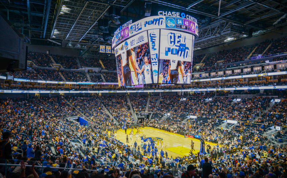 Samsung Partners with Golden State Warriors to Install NBA's Largest Centerhung LED Scoreboard at Chase Center – Samsung Global Newsroom