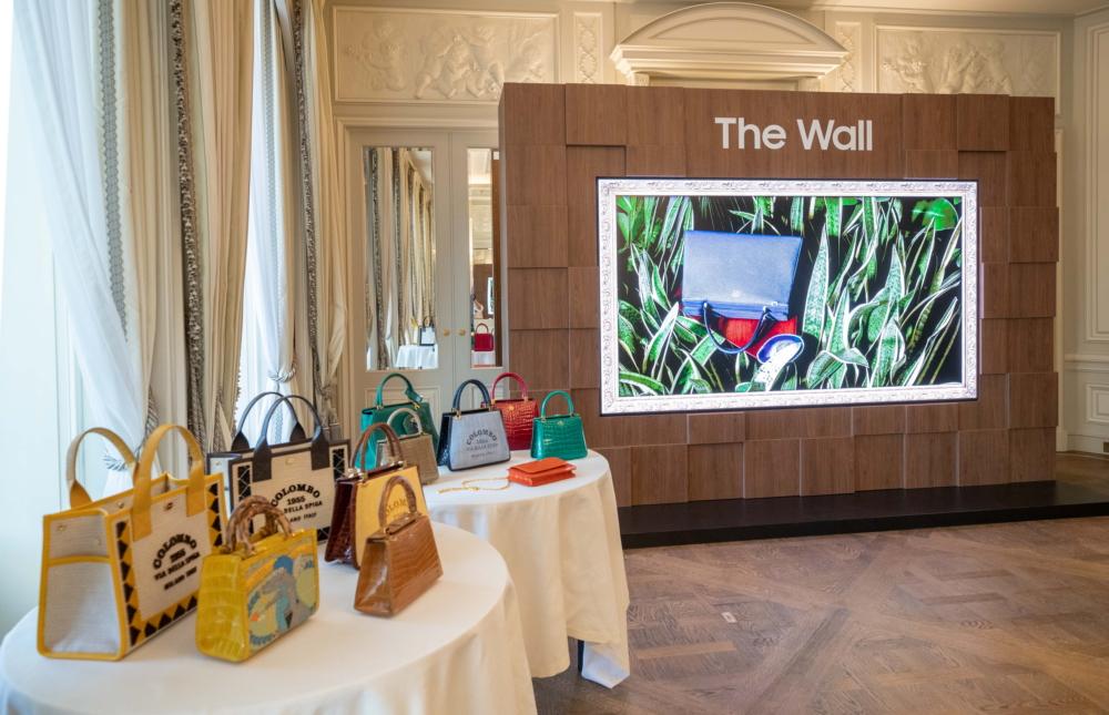 A Stunning Display: Samsung's 'The Wall Luxury' Wows at Paris Fashion Week – Samsung Global Newsroom