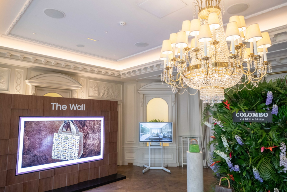 A Stunning Display: Samsung's 'The Wall Luxury' Wows at