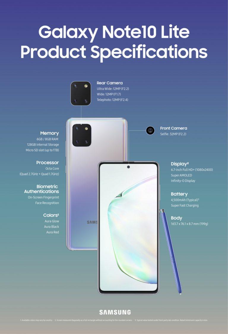 Samsung 推促销:凡购买 Galaxy S10 Lite / Galaxy Note 10 Lite 就能获得 RM200 折扣购买 Galaxy Watch Active 2 12