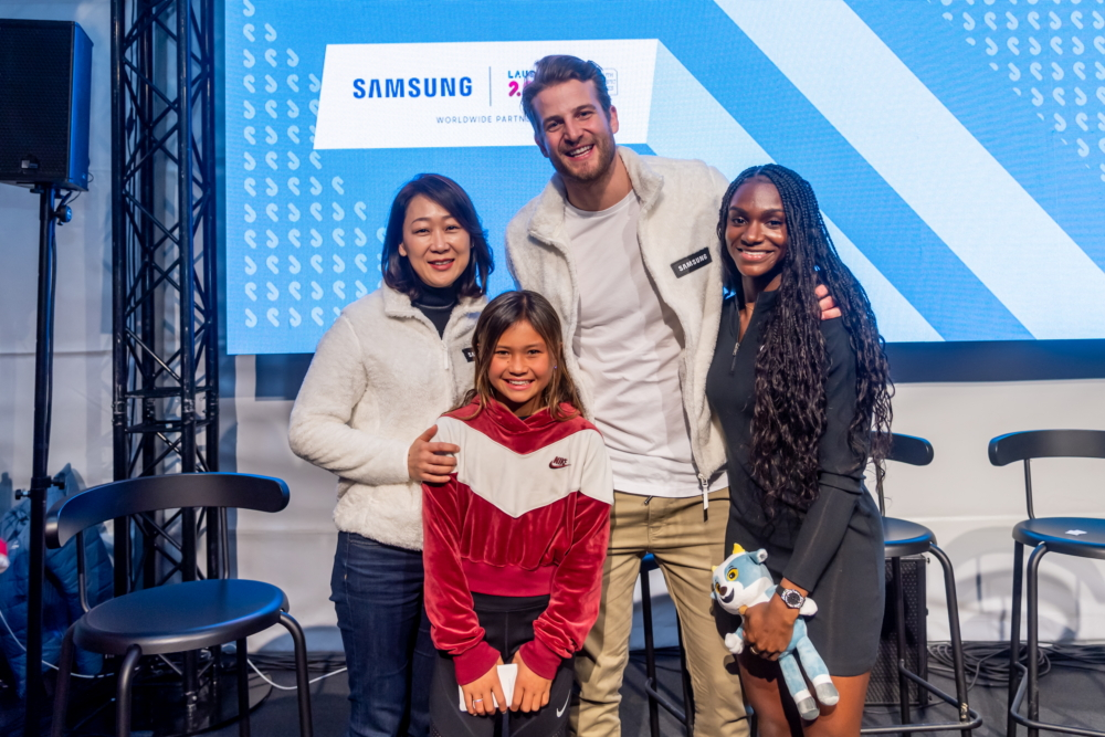 Team Galaxy Takes Over Lausanne and Excites Athletes During the Youth Olympic Games