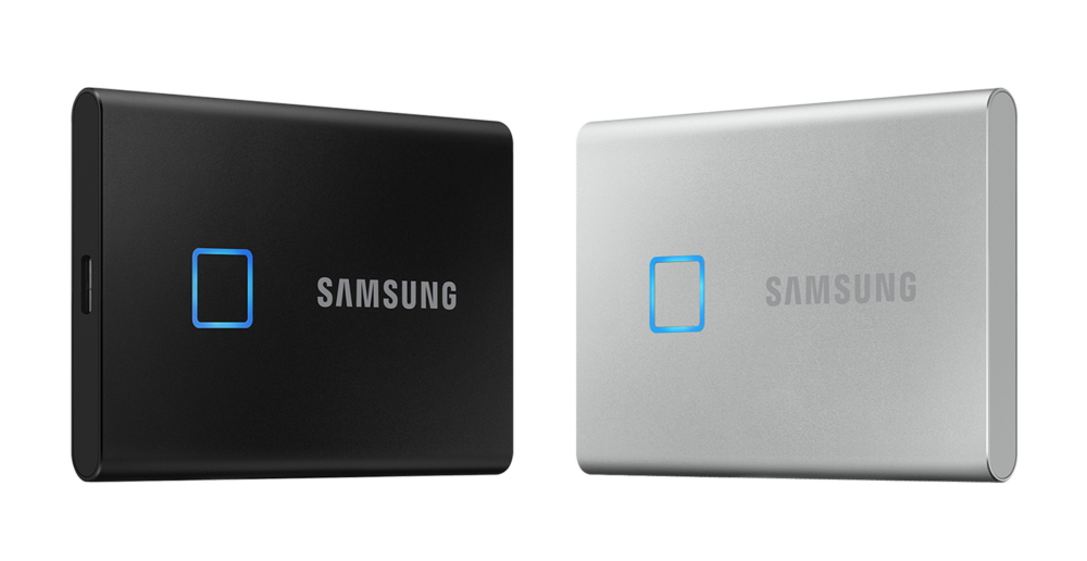 Samsung Releases Portable Ssd T7 Touch The New Standard In Speed And Security For External Storage Devices Samsung Global Newsroom