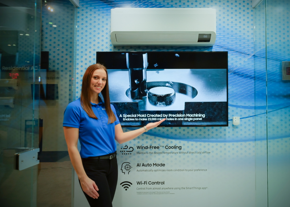 Samsung to Exhibit Full Range of Wind-Free™ Air ...