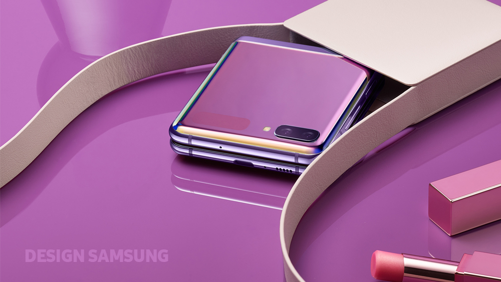 [Design Story] The Story Behind the Galaxy Z Flip's Fashion-Forward Design