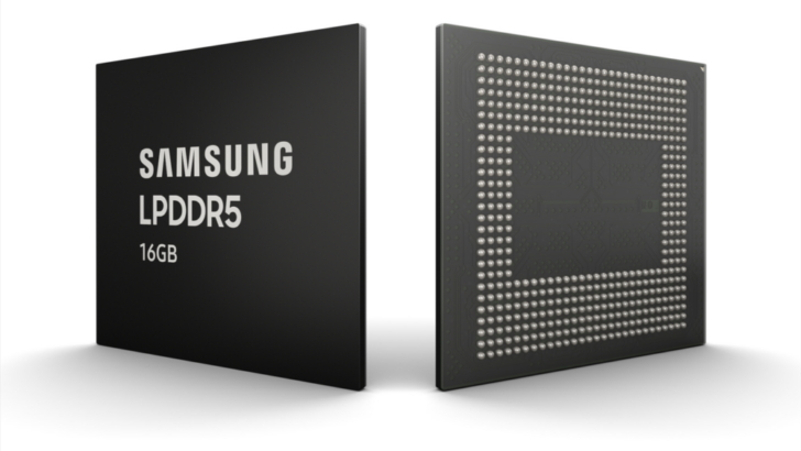 Samsung Begins Mass Production of Industry's First 16GB LPDDR5 DRAM for Next-Generation Premium Smartphones thumbnail