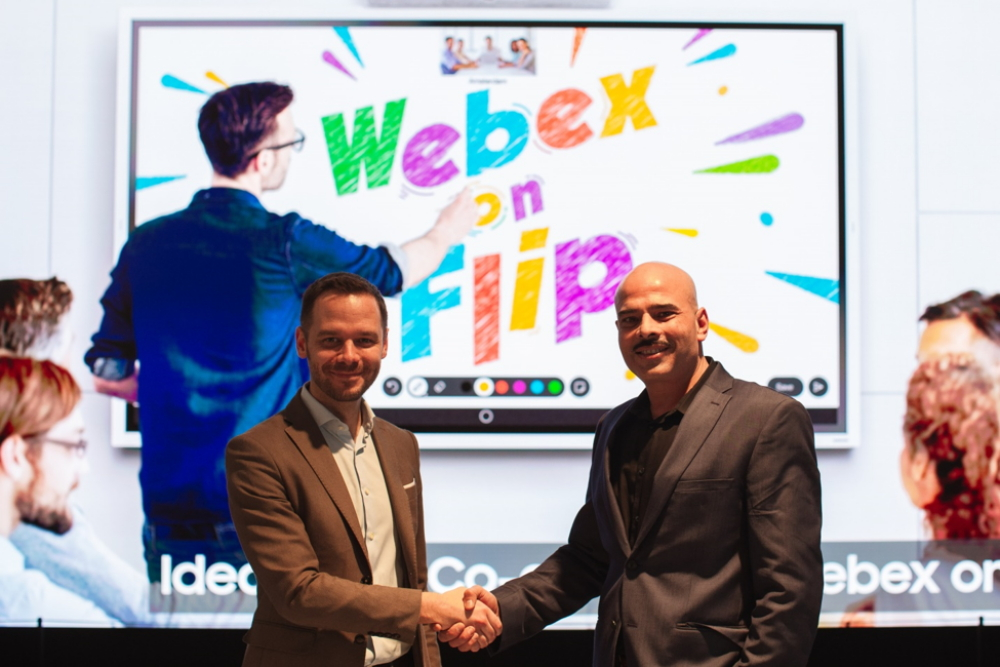 Samsung and Cisco Webex Preview the Future of Work at ISE 2020 – Samsung Global Newsroom