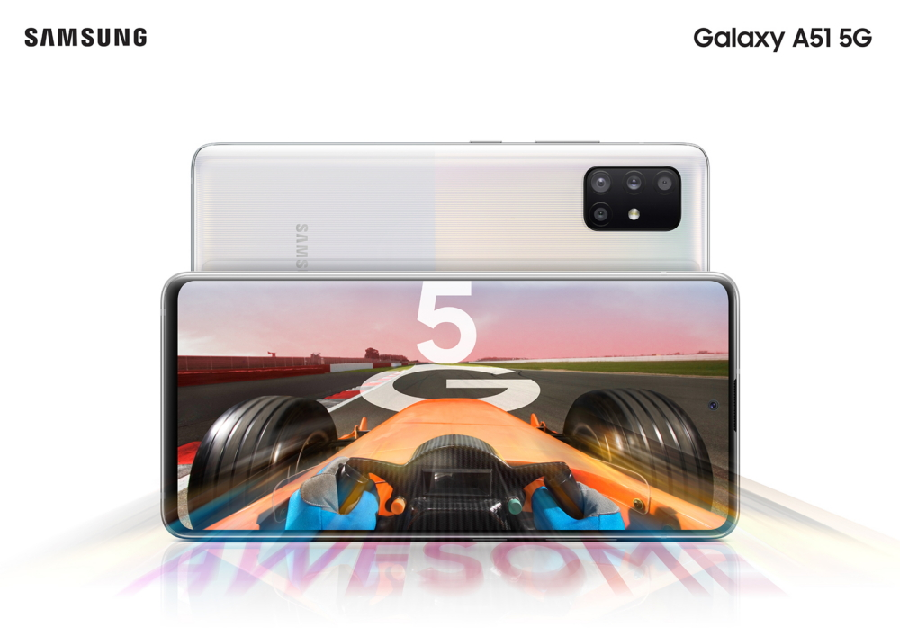 Galaxy A51 5G Android smartphone launched in India powered by enhanced essential innovations,  stunning Infinity-O display, quad camera, long-lasting battery and connectivity through 5G