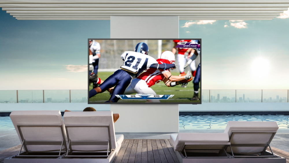 Samsung Takes the Home Entertainment Experience Outdoors with the Latest  Lifestyle TV and Soundbar, The Terrace (Samsung)   CompanyNewsHQ