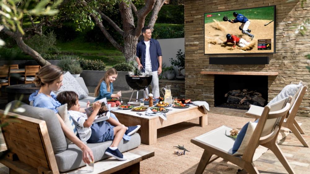 سامسونغ أعلنت تلفزيون Terrace وساوند