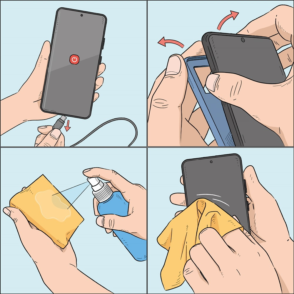 Tips for Keeping Your Smartphone Clean – Samsung Global Newsroom