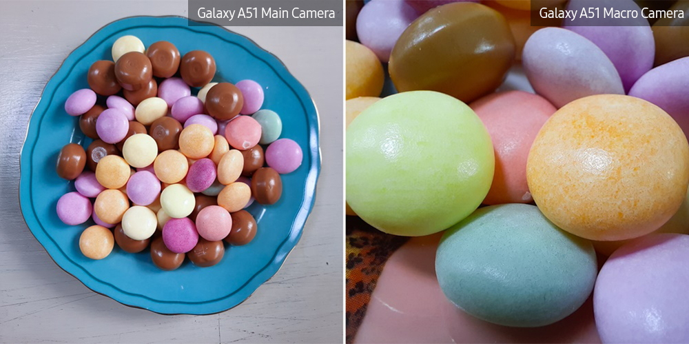 [Photo] Discover a Whole New World of Detail with the Galaxy A51 and Galaxy A71's Macro Camera ① Desserts
