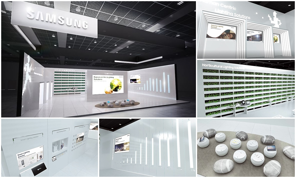 """Samsung's New """"Always Open"""" Virtual Booth to Showcase Innovative LED Technologies and Products"""