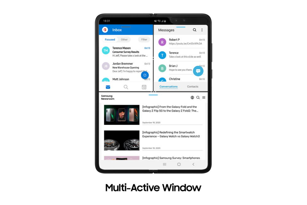 New Update Brings the Latest Galaxy Z Fold2 Features to the Galaxy Fold - Image 4