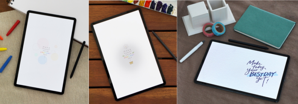 Season's Greetings with a Twist: Master Calligraphy with the Galaxy Tab S7+ - Image 1