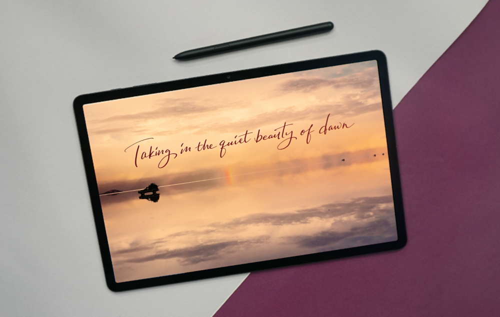 Travel Throwbacks: Reminiscing with Calligraphy on the Galaxy Tab S7+ - Image 3