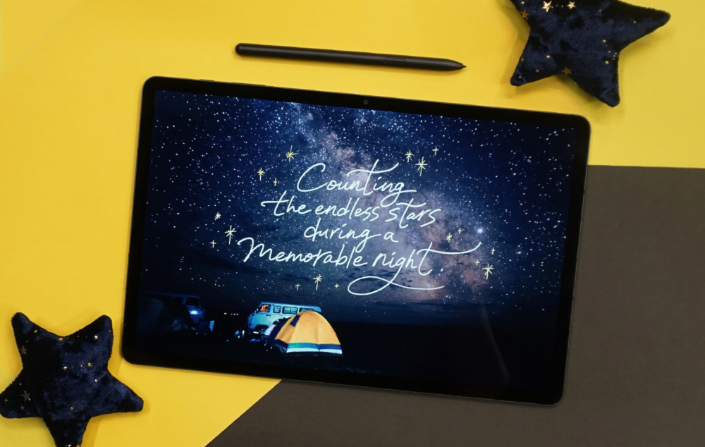 Travel Throwbacks: Reminiscing with Calligraphy on the Galaxy Tab S7+ - Image 2