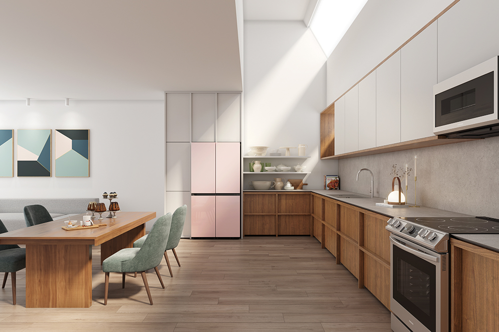 Samsung Expands BESPOKE to New Markets, Offering Customizable Refrigerators for Modern Kitchens - Image 1