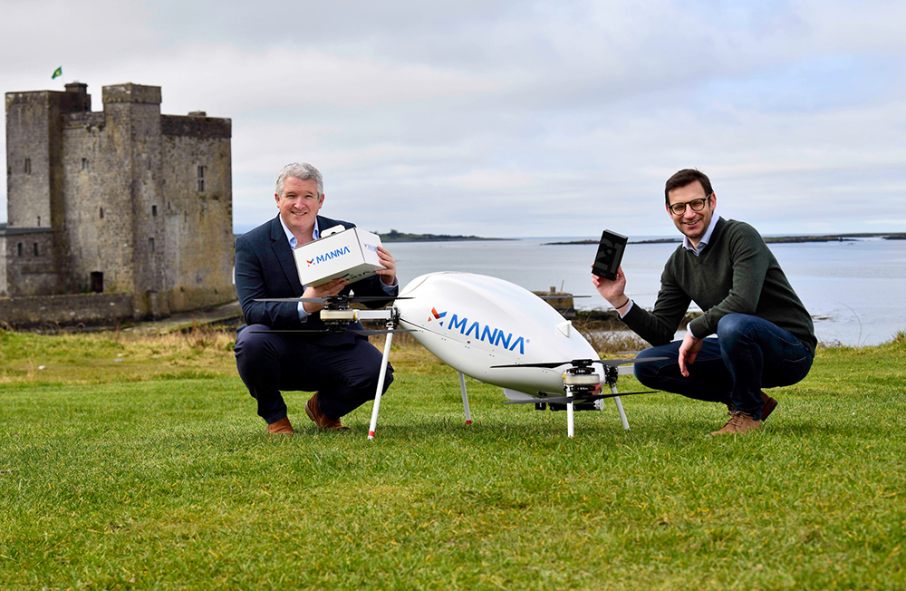 Samsung Partners With Manna To Launch Drone Delivery Service To Irish Customers - Image 4