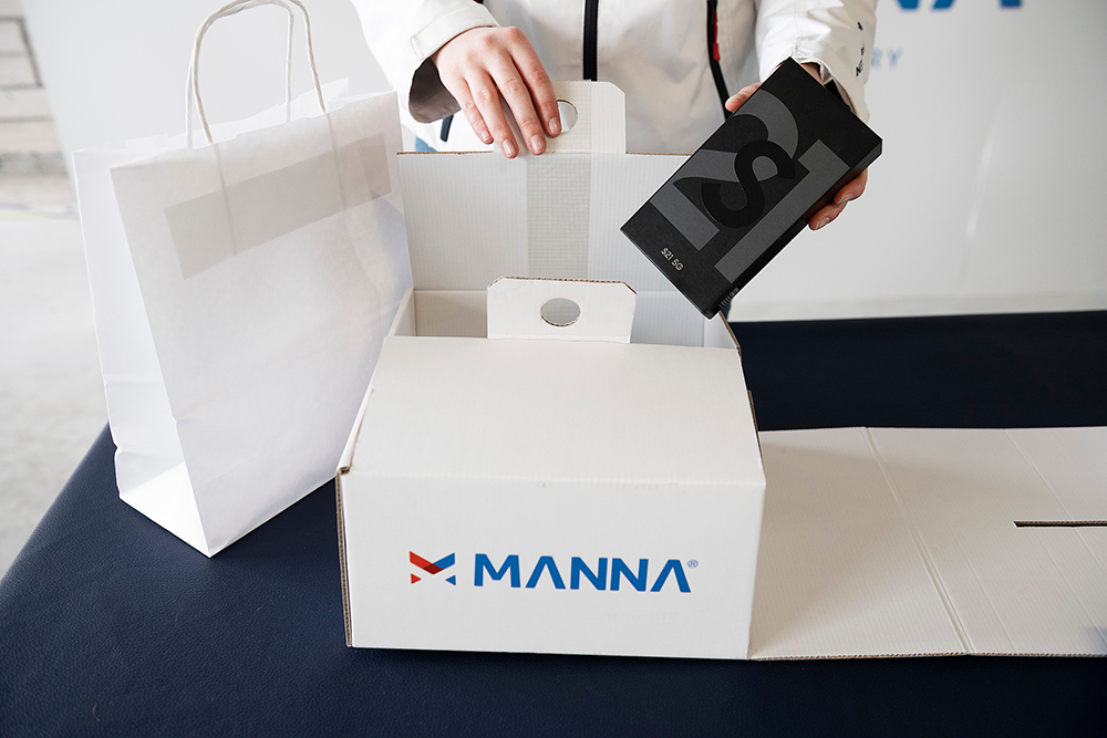 Samsung Partners With Manna To Launch Drone Delivery Service To Irish Customers - Image 3
