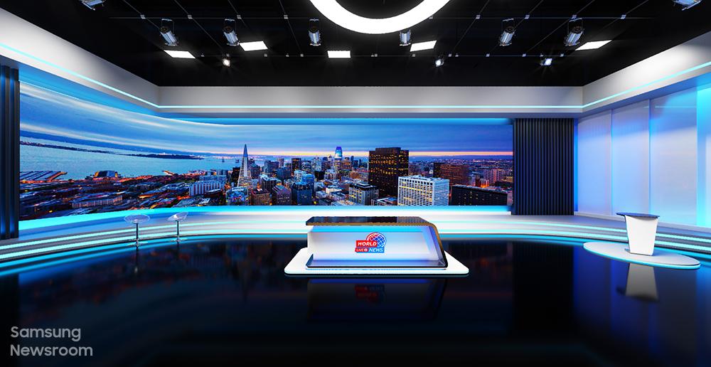 Samsung Brings Broadcasting to Life at 2021 Digital Signage Virtual Experience Showcase - Image 2