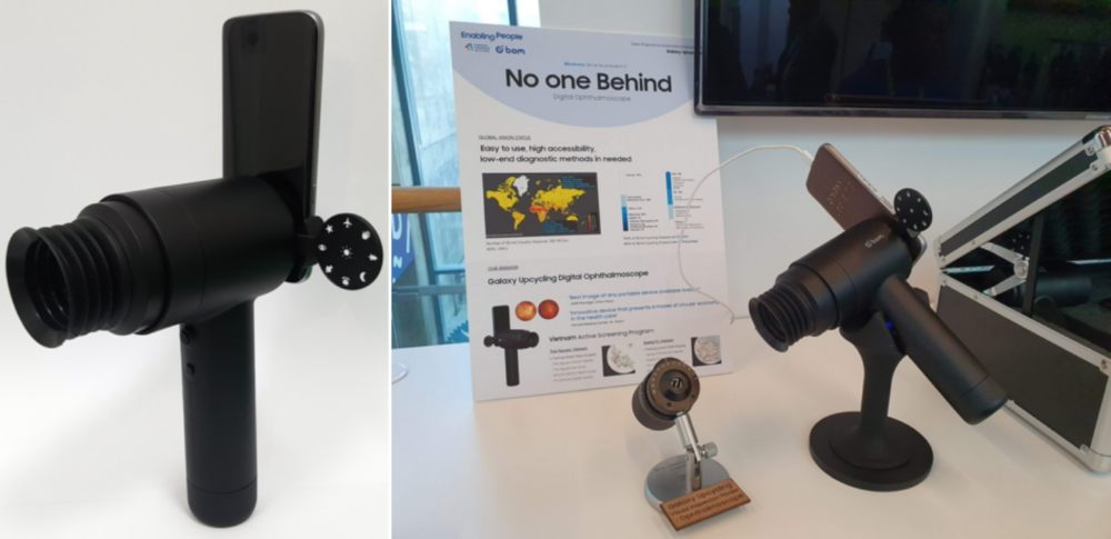Samsung's EYELIKE™ Fundus Camera Repurposes Galaxy Smartphones To Improve Access To Eye Care - Image 3