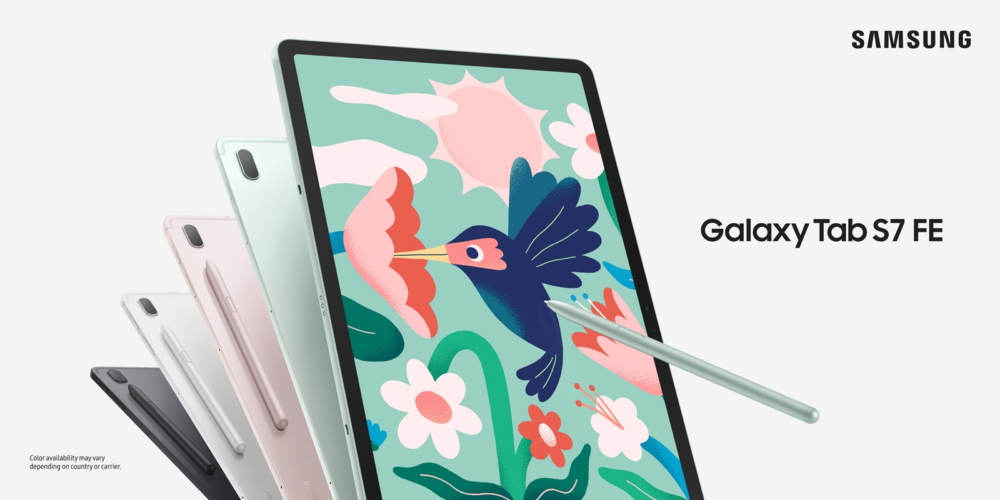 Download Samsung Galaxy Tab S7 FE Stock Wallpapers [FHD+]