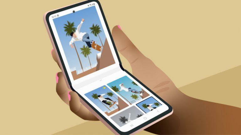 [Лайфхаки] Как с помощью Galaxy Z Flip создавать отличный контент и увеличить количество подписчиков