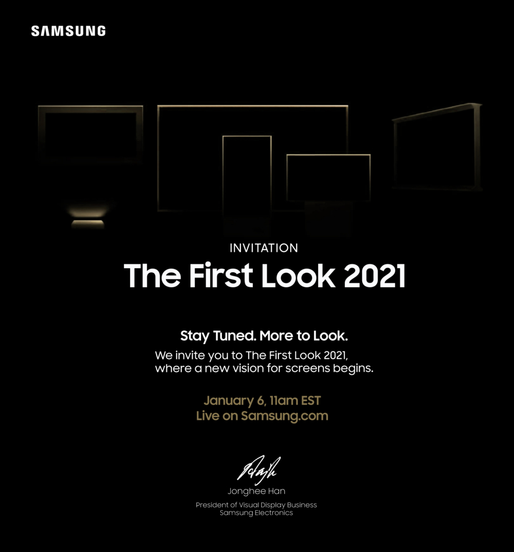 [Invitation] The First Look 2021 - Image 1
