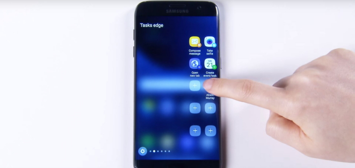Galaxy S7 edge – Design UX