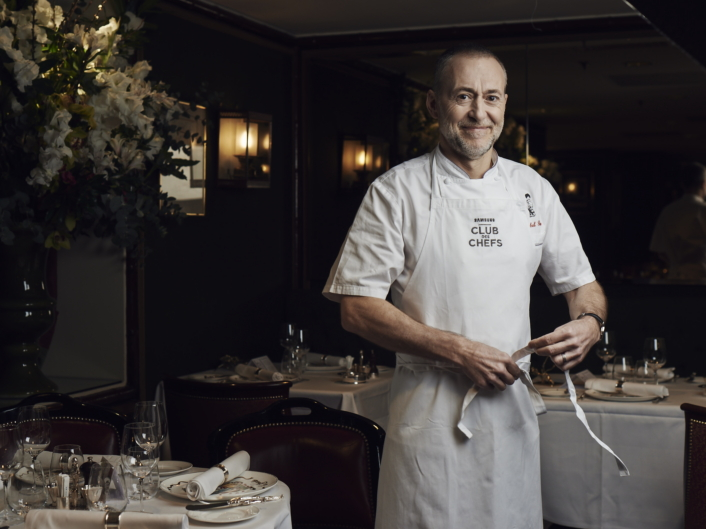 Michel Roux Jr., the eighth member of Samsung Club des Chefs