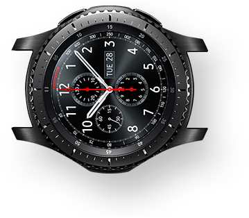 Gear S3 Frontier without watch band